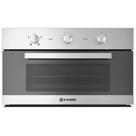 SMALVIC ELECTRIC COMPACT OVEN FI Q36F VT INOX-BT5-MX STAINLESS STEEL - 60 CM