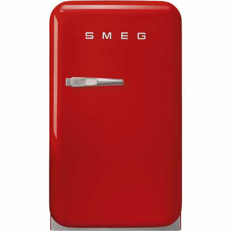 SMEG FAB5RRD3 FREE-STANDING REFRIGERATOR RED 50's STYLE