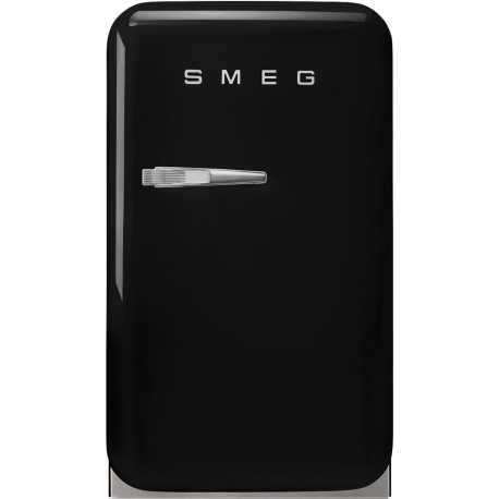 SMEG FAB5RBL3 FREE-STANDING REFRIGERATOR BLACK 50's STYLE