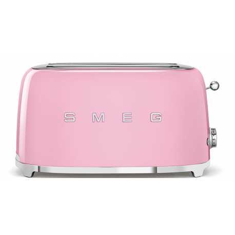 4 slice pink Smeg Toasters
