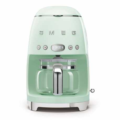 SMEG DRIP FILTER COFFEE MACHINE DCF02PGEU PASTEL GREEN 50'S STYLE