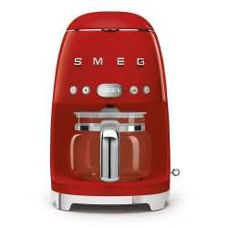 SMEG DRIP FILTER COFFEE MACHINE DCF02RDEU RED 50'S STYLE