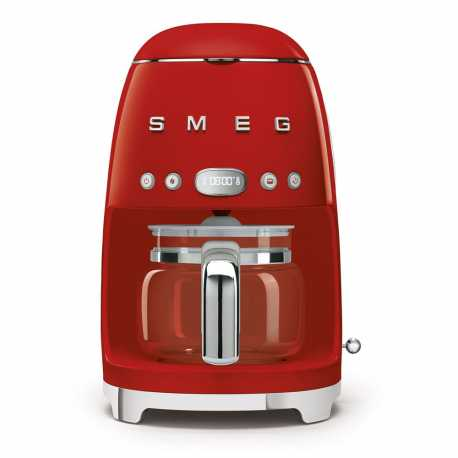 SMEG DRIP FILTER COFFEE MACHINE DCF02RDEU RED 50'S STYLE