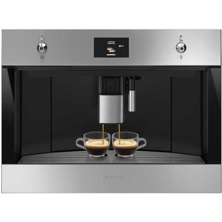 SMEG CMS4303X CLASSIC AESTHETIC BUILT-IN COFFEE MACHINE STAINLESS STEEL