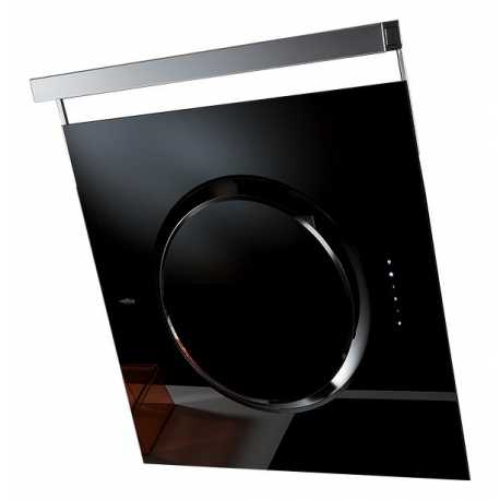 ELICA OM BLACK 80 CM WALL MOUNTED HOOD