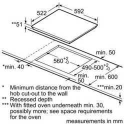 TABLE DE CUISSON INDUCTION BOSCH PVS611FB1E 60 CM