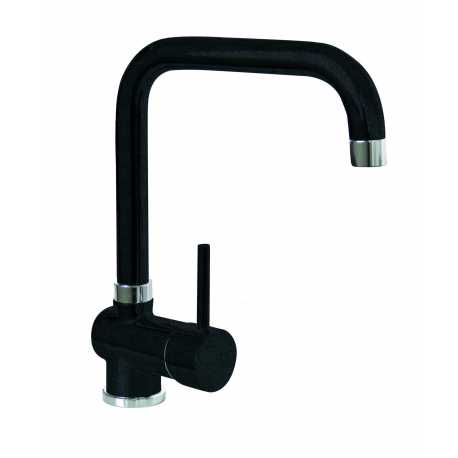 SCHOCK AQUATIME SINGLE LEVER SINK MIXER TAP ANTHRACITE