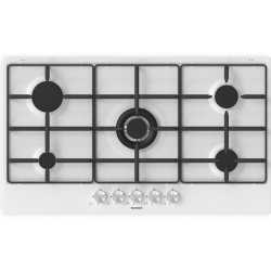SCHOCK GAS HOB SILVER PC90AV SATIN WHITE 90 CM