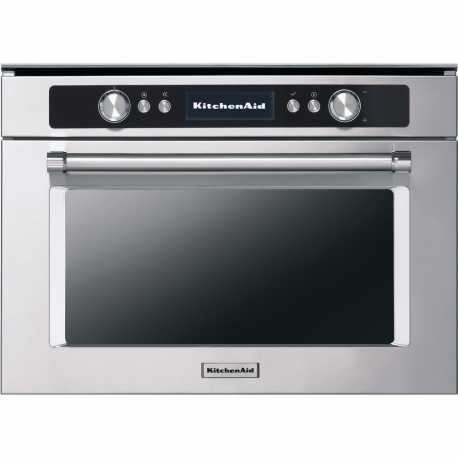 KITCHEN AID STAINLESS STEEL COMBI OVEN 45 CM KOQCX 45600