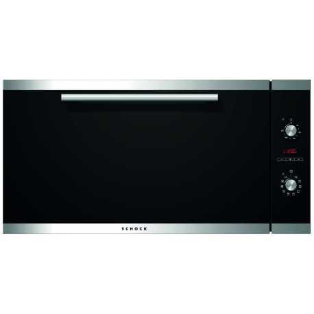 SCHOCK ELECTRIC OVEN SILVER F196 BLACK 90 CM
