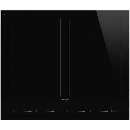 SMEG SIM1643D INDUCTION HOB BLACK GLASS 60 CM