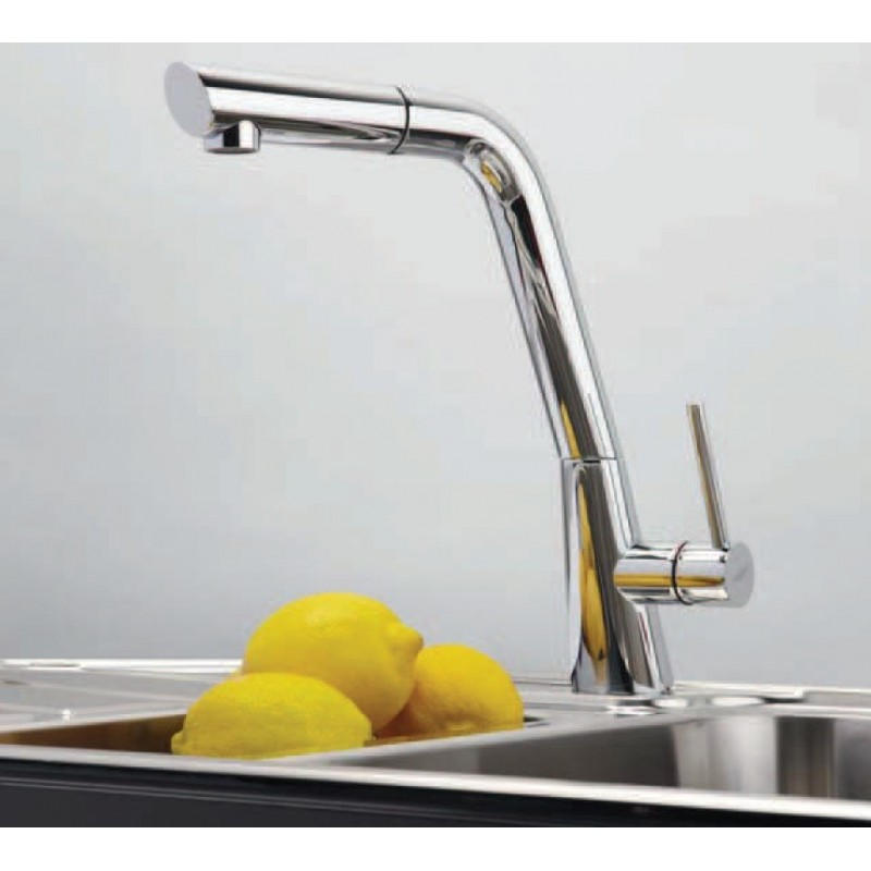 Franke caprice robinet mitigeur monocommande avec - Robinet franke avec douchette ...