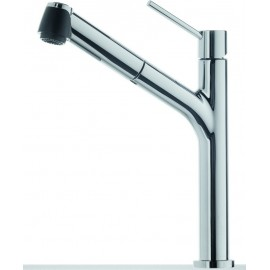 FRANKE D-PLUS SINGLE LEVER SINK MIXER TAP CHROME