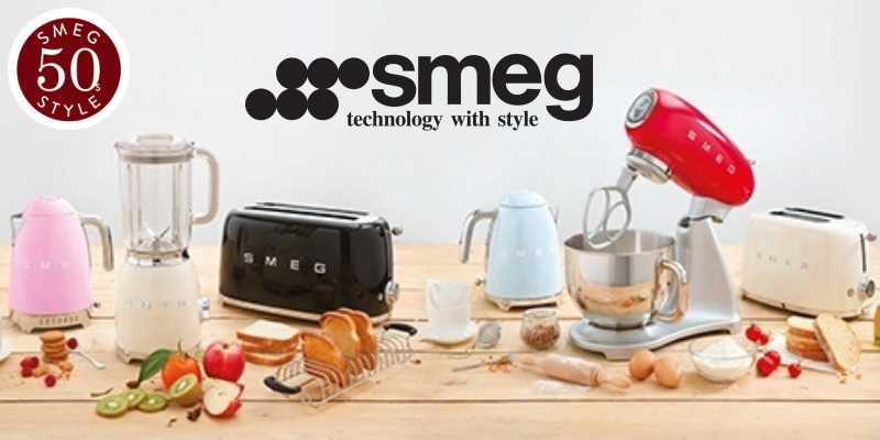 Smeg '50s style small appliances